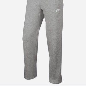 Nike Grey Sweatpants straight leg joggers